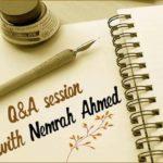 NEMRAH AHMED INTERVIEW